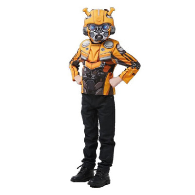 £9.99 • Buy Rubie's Transformers Bumblebee Muscle Chest Top & Mask Costume Set Age 3-8 Years