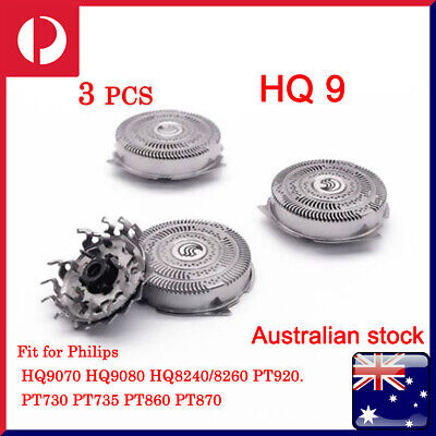 AU26.99 • Buy 3 Pcs HQ9 Electric Shaver Replacement Heads Razor Blade Compatible With Philips.