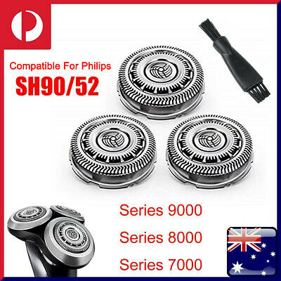 AU24.99 • Buy 3pcs SH90/52 Replacement Blades For Philips Norelco Series 9000 8000 7000 Shaver