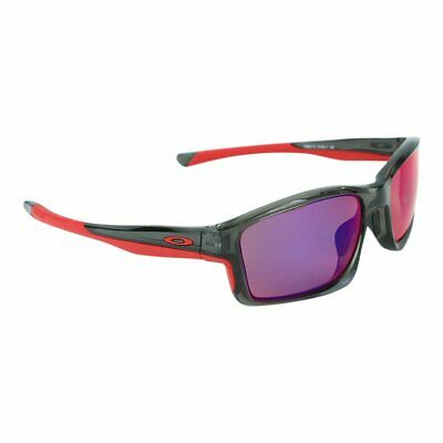 AU145 • Buy Oakley AUTHENTIC Chainlink Polarized Sunglasses ✦ OO9247-10 Grey Smoke/Red