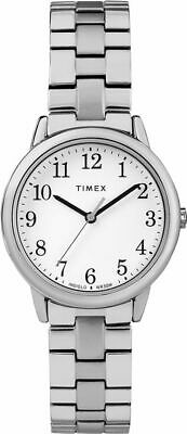 Timex TW2R58700, Easy Reader, Women's, Silvertone Expansion, Indiglo • 21.91£