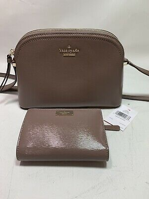 $ CDN163.33 • Buy KATE SPADE Patterson Drive Peggy Dusk City Scape Crossbody Matching Wallet