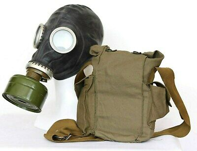 £17.90 • Buy Gas MASK GP-5 SOVIET WW2 BLACK With FILTER + BAG Exotic Decoration