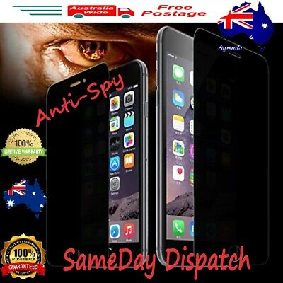 AU6.99 • Buy IPhone Anti-Spy Privacy Tempered Glass Screen Protector 6 7 8 X XR 12 11 Pro Max