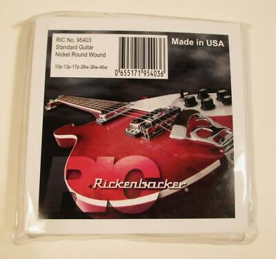 $ CDN31.90 • Buy Rickenbacker Guitar Strings Nickel Round Wound 10-46 Six String MIP Made In USA