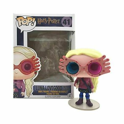 FUNKO POP Harry Potter Luna Lovegood With Glasses Figure Collection Toy #41 Gift • 11.79£