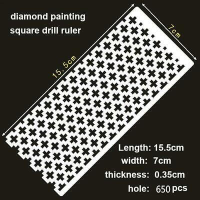 AU10 • Buy Diamond Painting Ruler Square Drills
