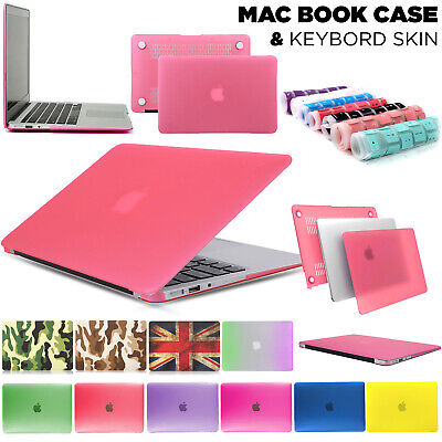 £4.99 • Buy Glossy Clear Case Cover + Keyboard Skin For Apple MacBook Air Pro 11 13 15 Inch