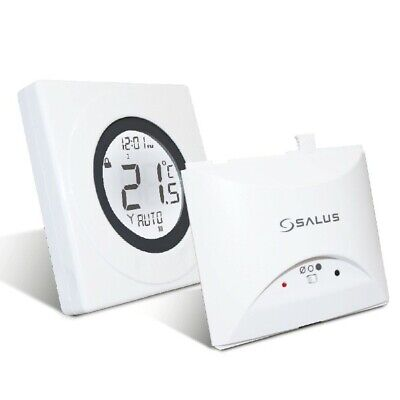 Salus St620wbc Worcester Combi Boiler Wireless Thermostat Rf Room Stat Plug In • 42.50£