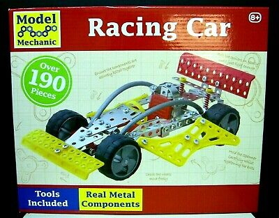 3 New Model Mechanic Sets, Racing Car, Go Kart, Microcopter, Ideal Xmas Presents • 20£