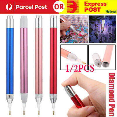 AU7.99 • Buy 5D Diamond Painting Diamond Painting Tool LED Light Point Drill Pen Accessories