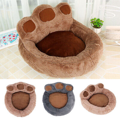 Dog Cat Pet Calming Beds Large Mat Comfy Puppy Washable Fluffy Cushion Plush Paw • 6.99£