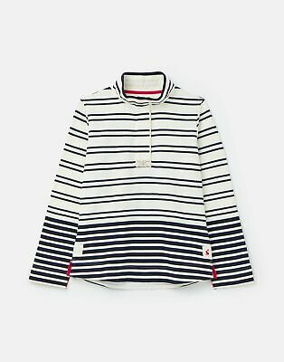 Joules Womens 211149 Classic Sweatshirt - Cream Navy Stripe • 27.96£