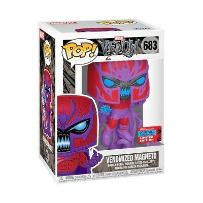 Venomized Magneto Nycc 2020 Convention Exclusive Funko Pop Marvel #683 Pre Order • 35.99£