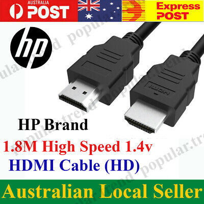 AU6.99 • Buy Genuine HP HDMI Cable High Speed HD 4K 2160p 1080p Premium Quality
