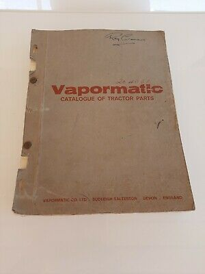 AU149.99 • Buy Vintage Vapormatic Catalogue Of Tractor Parts Agricultural Implements & Tractors