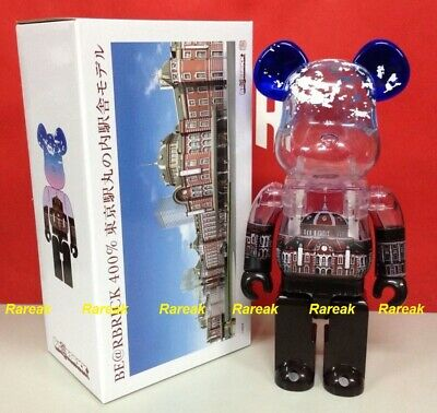 $322.99 • Buy Medicom Be@rbrick 2014 Japan Tokyo Station 100th Anni. 400% Day Ver. Bearbrick