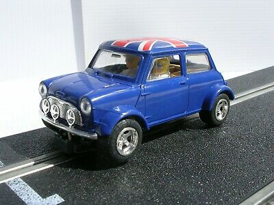 Vintage SCALEXTRIC C399 MINI COOPER  BLUE : Toys.R.Us 1992 Edition:Used/Unboxed. • 21.89£