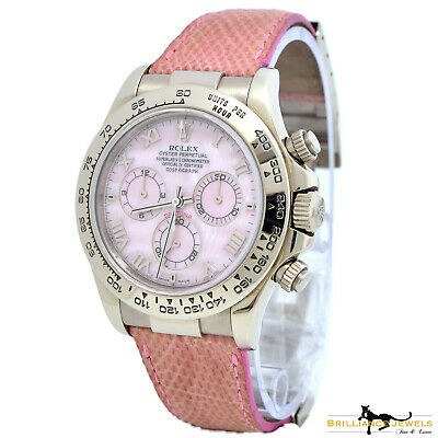 $ CDN46710.90 • Buy Rolex Daytona Beach Ref 116519 MOP Dial 18k White Gold Watch