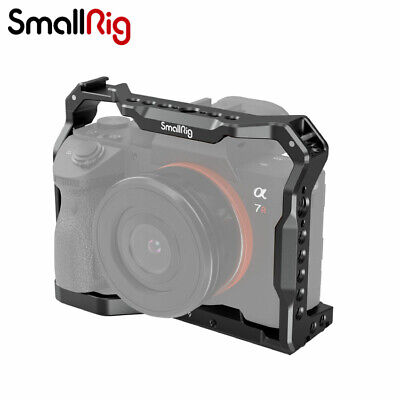 $ CDN45.69 • Buy SmallRig Cage With NATO Rail & Cold Shoe Mount For Sony A7 III A7R III A9 2918