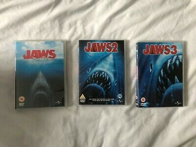 Jaws DVD Movie Collection: Part 1, 2, 3  • 4.99£