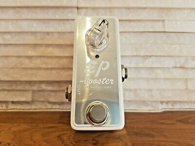 Limited Edition White - Xotic EP Booster Boost Pedal - Guitar Effects Pedal • 120£