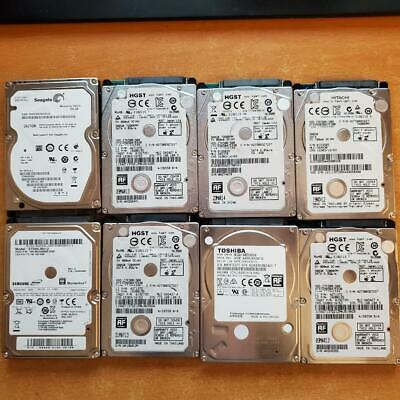 $ CDN191.61 • Buy Lot Of 17 2.5 SATA Laptop Hard Drives 500GB 250GB 160GB 120GB