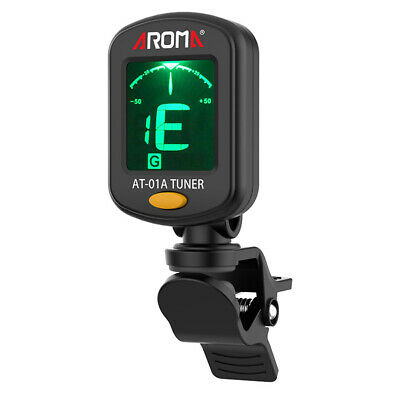 AU3.03 • Buy Clip-on Accurate ABS Portable Guitar Tuner For Chromatic Bass Violin Ukulele