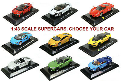 $ CDN28.84 • Buy 1/43 Supercar Diecast Models (Ferrari, Lambo, Lotus, Bugatti...) CHOOSE YOUR CAR