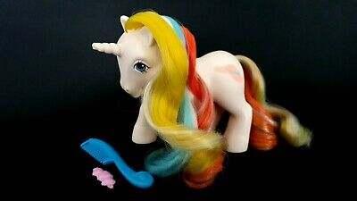 AU22 • Buy Bouquet Brush N Grow (Not Working) G1 Vintage My Little Pony With Accessories