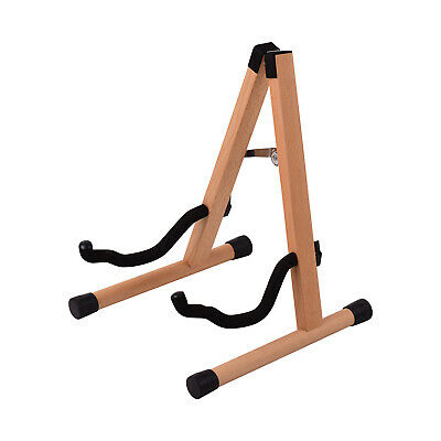 $ CDN56.55 • Buy Portable Wood Guitar Stand Solid Wood Folding A-shaped Guitar Stand For R5V5