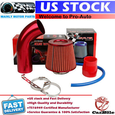 $ CDN53.43 • Buy Cold Air Intake Filter Induction Kit Pipe Power Flow Hose System Car Accessories