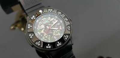 Royal Marines Commando Gents Watch With Camouflage 24 Hour Dial & Rotating Bezel • 11.50£