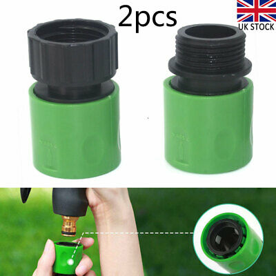 3/4  Female And Male Hose Pipe Fitting Set Quick Garden Water Connector Adaptor • 4.92£