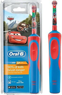 AU38.54 • Buy Oral-B Stages Power Kids Boy Disney Pixar CARS Electric Rechargeable Toothbrush
