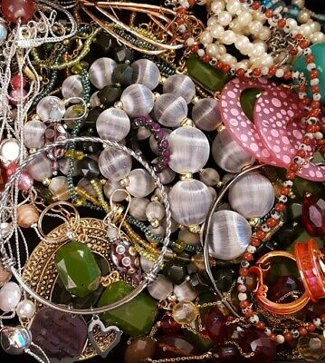 $ CDN25.53 • Buy Vintage Now Unsearched Untested Junk Drawer Jewelry Lot Estate Most Wear L323