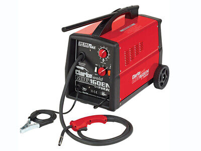 Clarke  160EN  MIG Welder  -  150 Amp Dual Purpose Gas / No Gas Weld Welding Kit • 235£