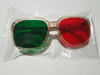 Opticians Eye Test Chart Glasses Red And Green Lenses  • 44.99£