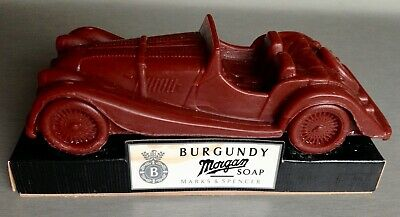 Morgan Plus 8 Soap Model - Rare And Collectable - Burgundy By M&S • 25£