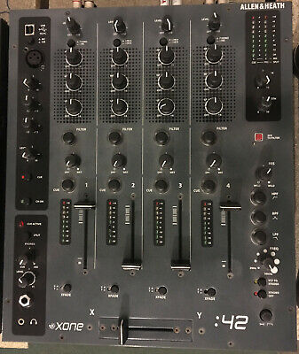 Allen And Heath Xone 42 DJ Mixer, Analogue + Filters, Mini Xone 92, A+H A&H Zone • 299.99£