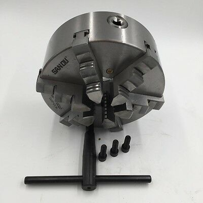 AU216.29 • Buy 200mm 6 Jaw 8'' Lathe Chuck Self-Centering For CNC Drilling Milling Machine New