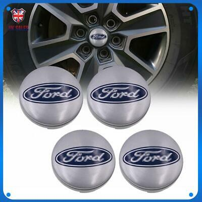 4x Car Wheel Center Cap Hubs Set Badges Cover For Ford Focus Transit Mondeo 54mm • 10.26£
