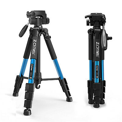 AU40.32 • Buy ZOMEI Q111 Professional Aluminium Tripod&Pan Head Travel Stand For DSLR Camera
