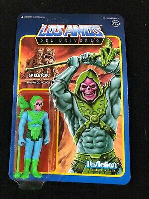 $24.95 • Buy Exclusive Super 7 Motu Masters Of Universe Skeletor Reaction Los Amos Power-con