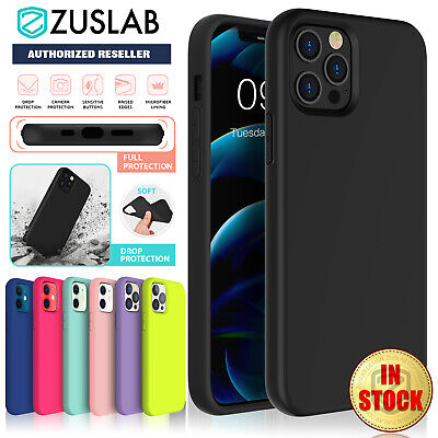 AU12.95 • Buy IPhone 12 Pro Max Mini Case ZUSLAB Thin Soft Silicone Shockproof Cover For Apple