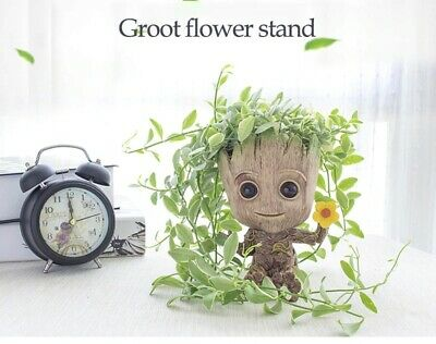 £4.29 • Buy Table Deco Character For Table Toy Flower Pot Planter Figurines Tree Man Cartoon