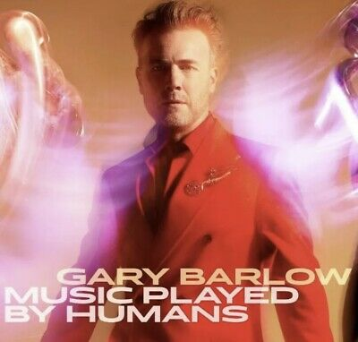 Gary Barlow - Music Played By Humans (Deluxe CD & Book) HAND SIGNED *Pre Order* • 24.99£