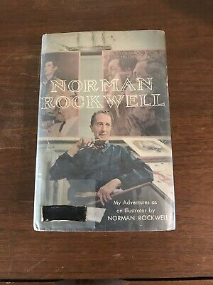 $ CDN151.56 • Buy NORMAN ROCKWELL My Adventures As An Illustrator 1ST EDITION Slipcase SIGNED 1960