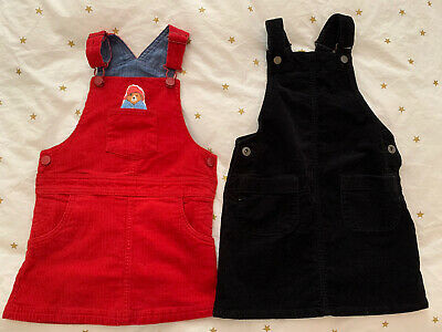 Bundle Of Pinafore Dresses Uniqlo 5-6 Years And M&S 3-4 Years • 5£