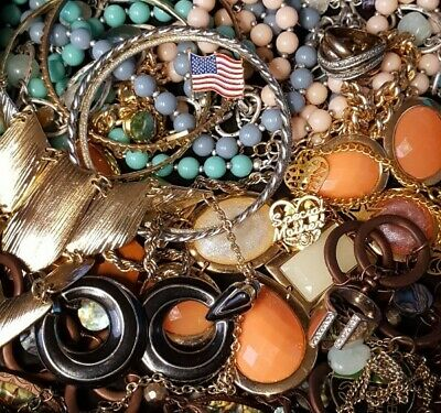 $ CDN33.31 • Buy Vintage Now Unsearched Untested Junk Drawer Jewelry Lot Estate All Wear L329